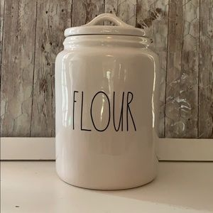 Rae Dunn Flour Jar New